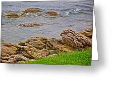 Patch Reefs At Point Amour In Labrador Greeting Card