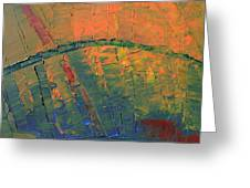 Patches Of Red Greeting Card