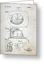Patent - Fire Helmet Greeting Card