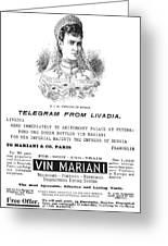 Patent Medicine, 1894 Greeting Card