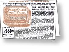 Patent Medicine Ad, 1890s Greeting Card