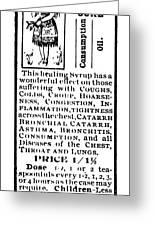 Patent Medicine, C1900 Greeting Card