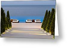 Path Leading To Heaven Greeting Card