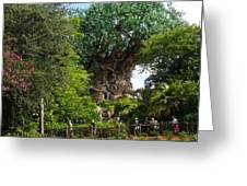 Path Leading To Tree Of Life Greeting Card