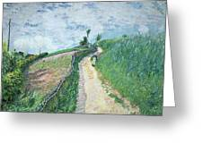 Path Leading To Ville D'avray Greeting Card