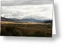 Path Of The Pioneers - Split Rock - Jeffrey City - Wyoming Greeting Card