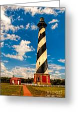 Path To Cape Hatteras Light Greeting Card