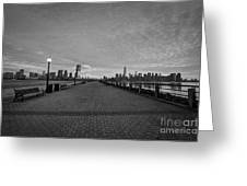 Path To Manhattan Greeting Card