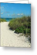 Path To Pass -a- Grille Greeting Card