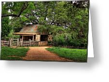 Path To The Barn Greeting Card