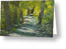 Path To The Point Greeting Card