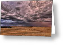Path To The Storm Greeting Card