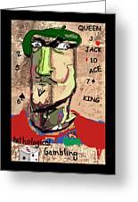 Pathological Gambling Greeting Card