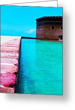 Paths On The Water Greeting Card
