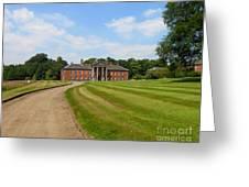 Pathway To Adlington Hall Greeting Card