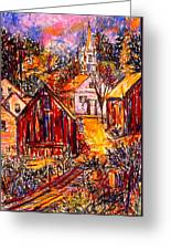 Pathway To Color Greeting Card