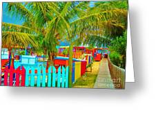 Pathway To Rum Greeting Card