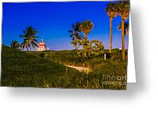 Pathway To The Beach Greeting Card