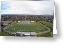 Patrick Henry Football Stadium Greeting Card