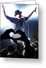 Patrick Stump Of Fall Out Boy Greeting Card