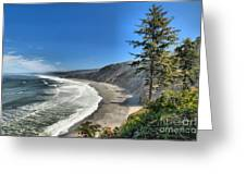 Patrick's Point Landscape Greeting Card