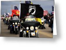 Patriot Riders Greeting Card
