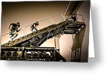 Patriot3 Elevated Tactics System Greeting Card