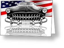 Patriotic Hudson 1952 Greeting Card