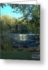 Patsiliga Creek Falls Greeting Card