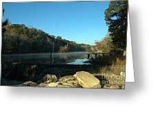 Patsiliga Creek Lake Greeting Card