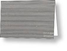 Pattern - Corrugated Metal Greeting Card
