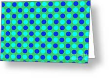 Pattern Of Circles Greeting Card