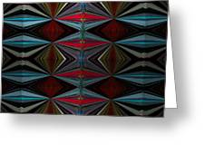 Patterned Abstract 2 Greeting Card