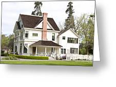 Patterson House Ardenwood Historic Farm Greeting Card