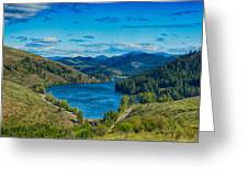 Patterson Lake In The Summer Greeting Card