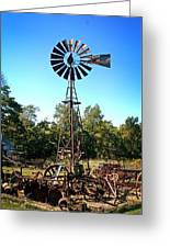 Patterson Windmill Greeting Card by Marty Koch