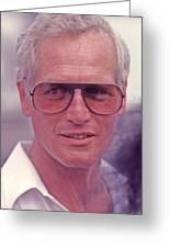 Paul Newman 1925 - 2008 Greeting Card