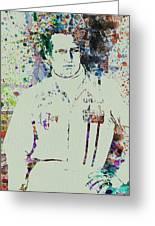 Paul Newman  Greeting Card by Naxart Studio