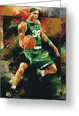 Paul Pierce Greeting Card by Christiaan Bekker