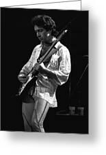 Paul On Guitar 1977 In Spokane Greeting Card
