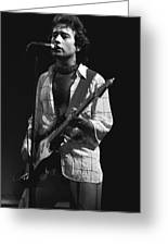 Paul Rocks Spokane 1977 Greeting Card