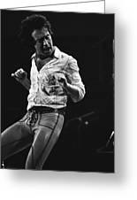 Paul Rocks Steady In Spokane In 1977 Greeting Card