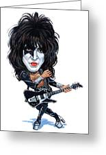 Paul Stanley Greeting Card