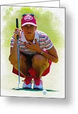 Paula Creamer - Safeway Classic  Greeting Card
