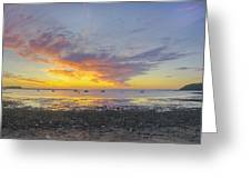 Pavilion Sunrise Greeting Card