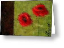 Pavot - 027023173-bl01 Greeting Card