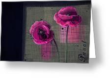 Pavot - S1c12j033036161bl1 Greeting Card