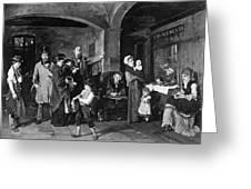 Pawn Shop, 1874 Greeting Card