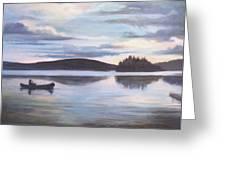 Payette Lake Idaho Greeting Card