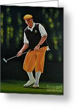 Payne Stewart Greeting Card by Paul Meijering